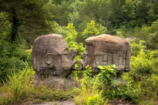 Kissing stones. Author: Walter Arnold Photography – Art of Abandonment | www.TheDigitalMirage.com