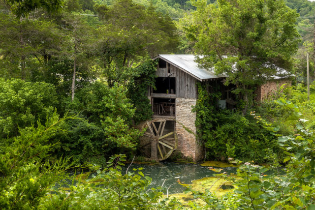 The old mill. Author: Walter Arnold Photography – Art of Abandonment | www.TheDigitalMirage.com