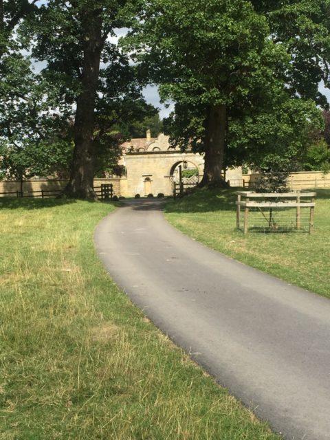 The gatehouse leading to Jervaulx Hall. Author: Charlotte Bond