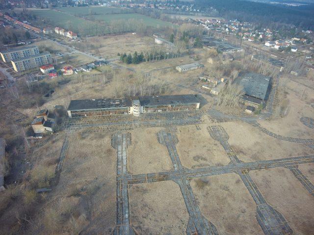 Aerial view. Author: Robert Radebold, Rangsdorf – Robert Radebold, Rangsdorf, CC BY-SA 4.0