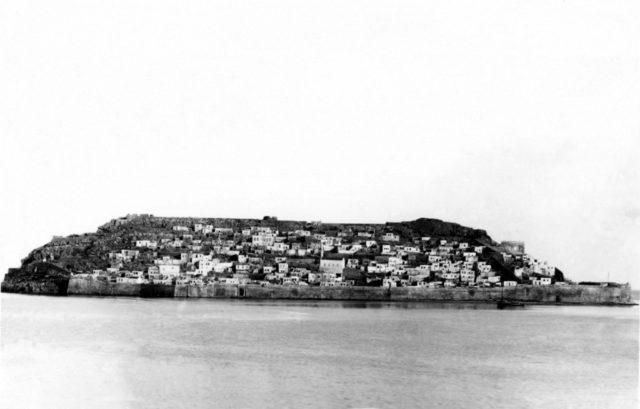 Spinalonga in 1901