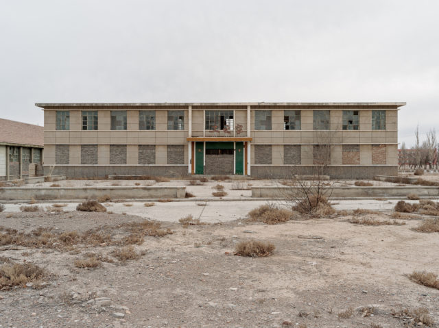 A building that contained the post office and other amenities. Author: Li Yang – liyangphoto.com