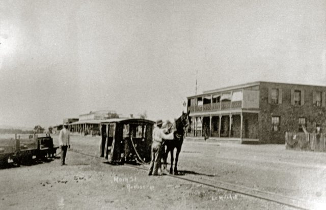 Cossack-Roebourne horse-hauled tramway in north-west Western Australia