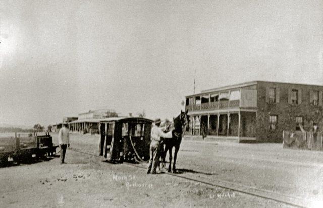Cossack-Roebourne horse-hauled tramway in north-west Western Australia