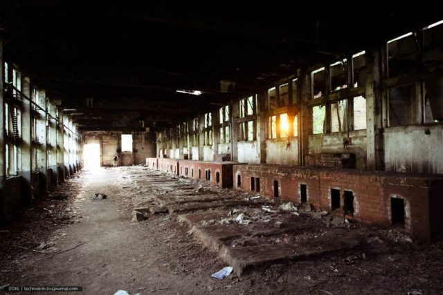Inside of the boiler house. By Alex Technolirik – LiveJournal @technolirik