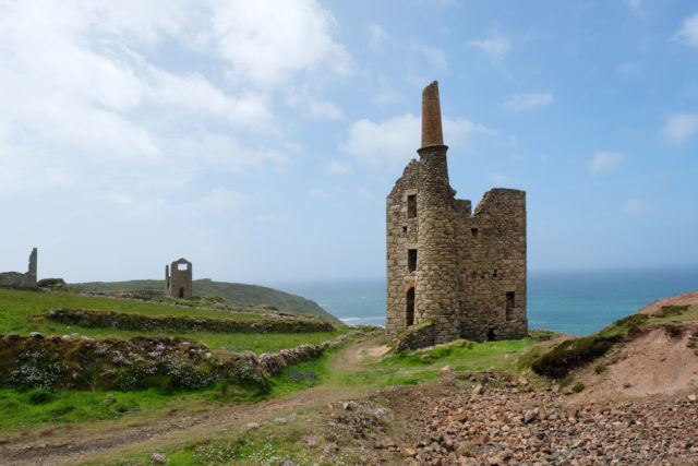 Wheal Owles, a 19th-century tin mine on the Cornish coast at Botallack. By JohnGollop
