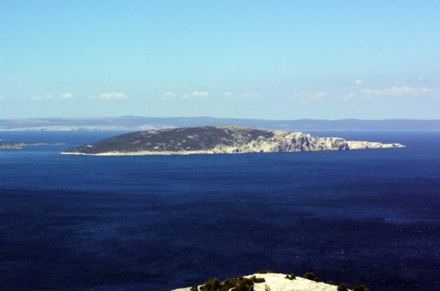 View from Goli Otok. By Crobackpacker