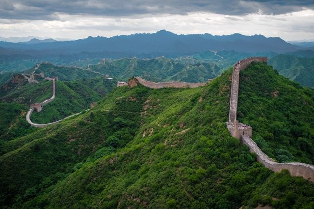 The Great Wall of China at Jinshanling. By Severin.stalder, CC BY-SA 3.0