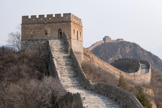 Unrestored part, Jinshanling, China. By lrosebrugh
