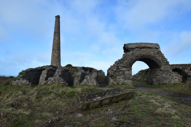 Wheal Bal mine. By Newage, Flickr @newage2