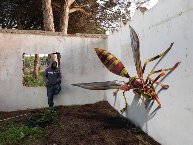 Big wasp. By Sérgio Odeith