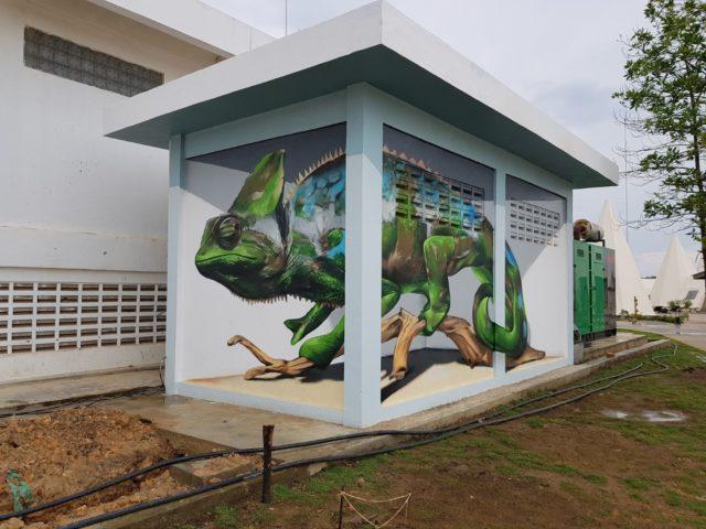 Chameleon. By Sérgio Odeith
