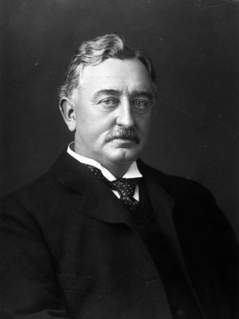 Portrait of the industrialist and politician Cecil Rhodes (1853-1902)