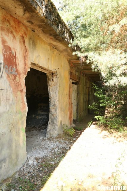Abandoned exterior of Syrius bunker, outside of Legnica, Poland (Photo Credit: CarloR)