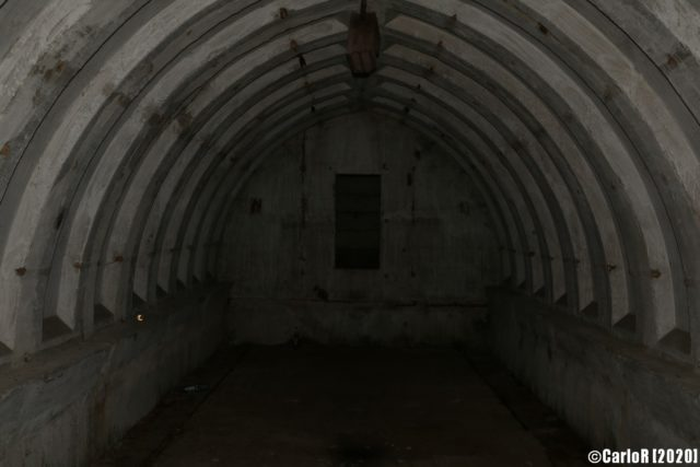 Underground room in bunker. (Photo Credit: CarloR)