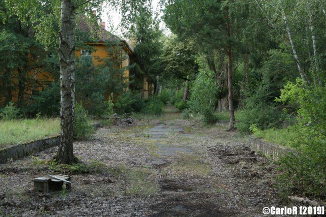 Outdoor pathway to Forst Zinna