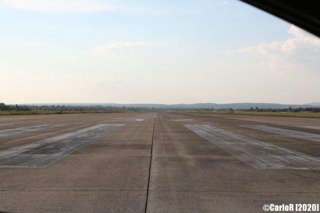 Tököl Airbase runway