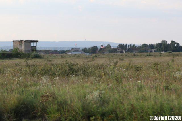 Grassy field at Tököl Airbase