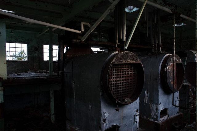 Burwash Correctional Center boiler room