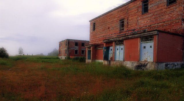 Exterior of the Burwash Correctional Center